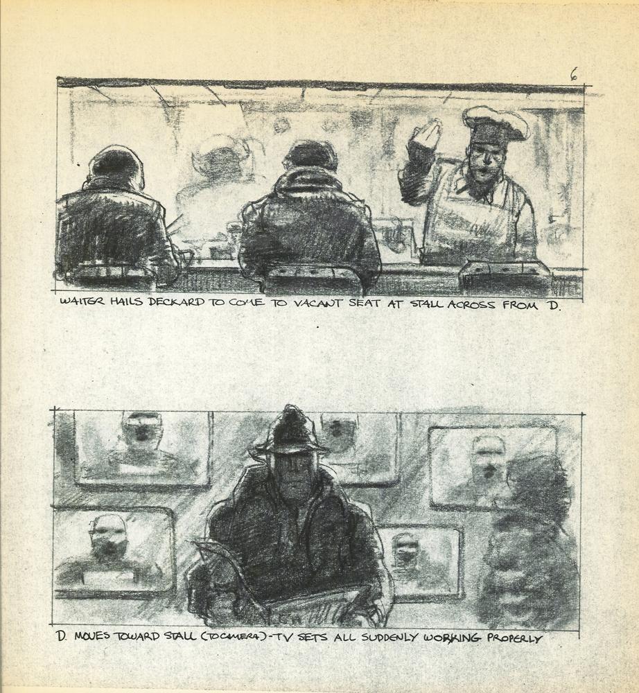ejemplo de storyboard de blade runner
