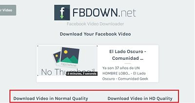 descargara videos de facebook