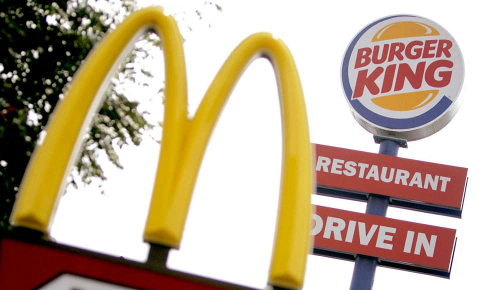 Burguer King vs McDonalds ¿por la paz?