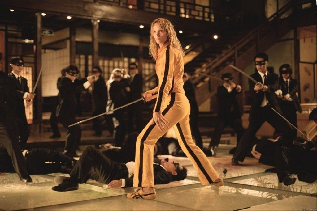 plano figura de kill bill